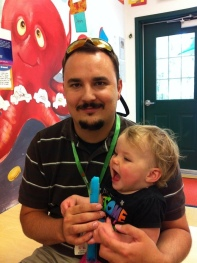 Daddy-Daughter Popsicle day